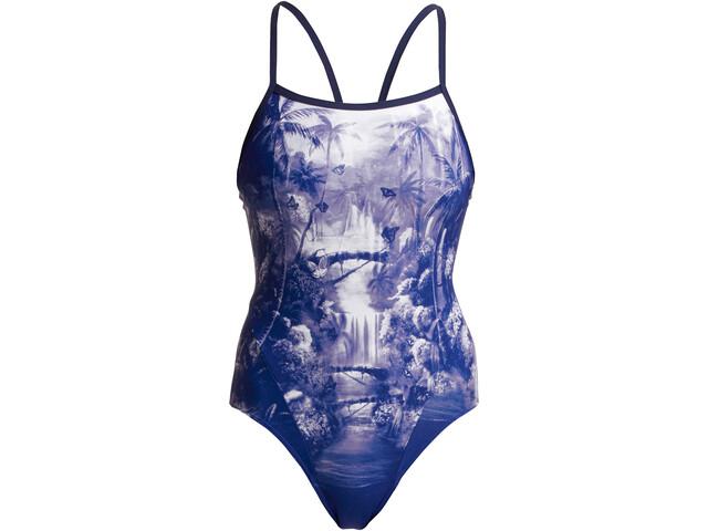 Funkita Single Strap Swimsuit Women, azul/Multicolor